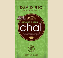 David Rio Tortoise Green Tea Chai Beutel